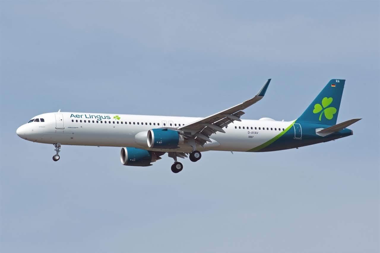 Airbus Hamburg Finkenwerder News: A321-253NX/LR, Aer Lingus, EI-LRA (MSN  8887)
