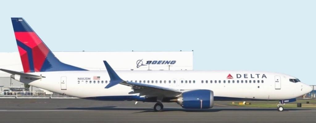 Delta reposiciona al Boeing 737 MAX |