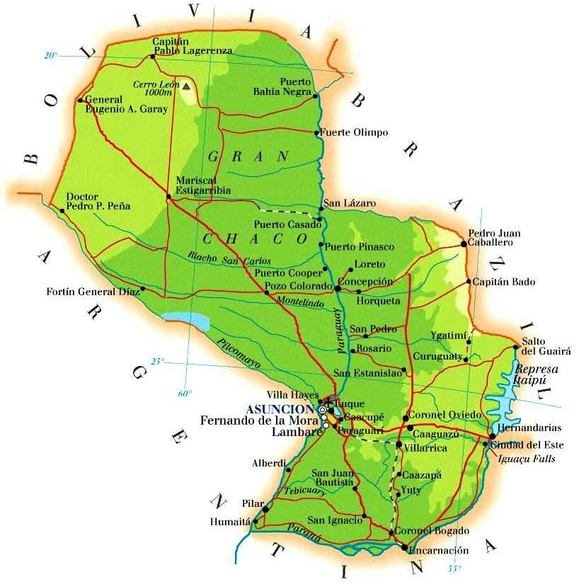 Paraguay-Map_Mapasblog