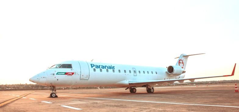 Paranair adquiere CRJ-200 de Flyest |