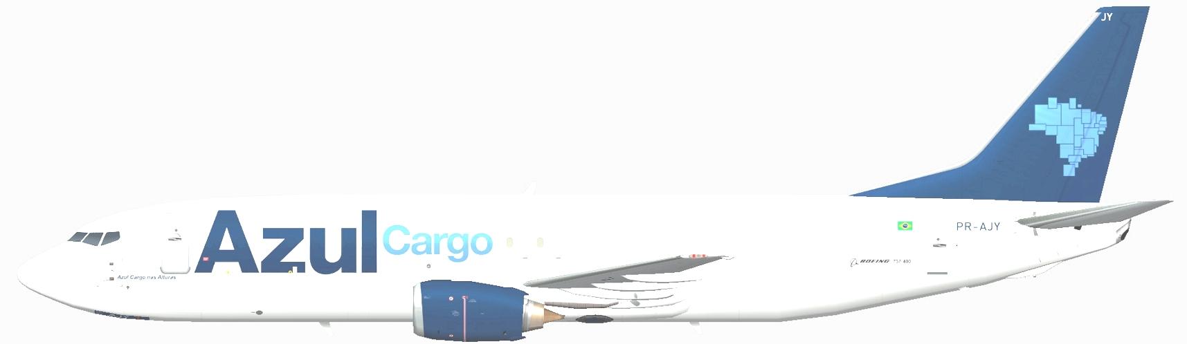 AZUL-Cargo-737-400F