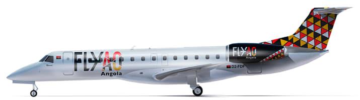 Fly Angola_E145