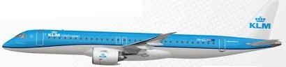 KLM Cityhopper E195-E2-007