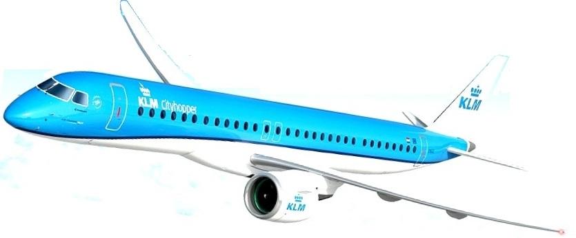 KLM-Cityhopper-E195-E2