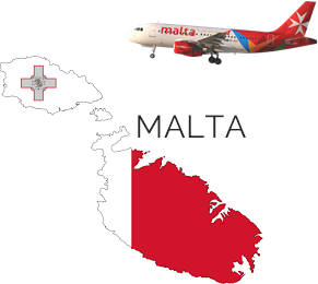 Malta Islands_map