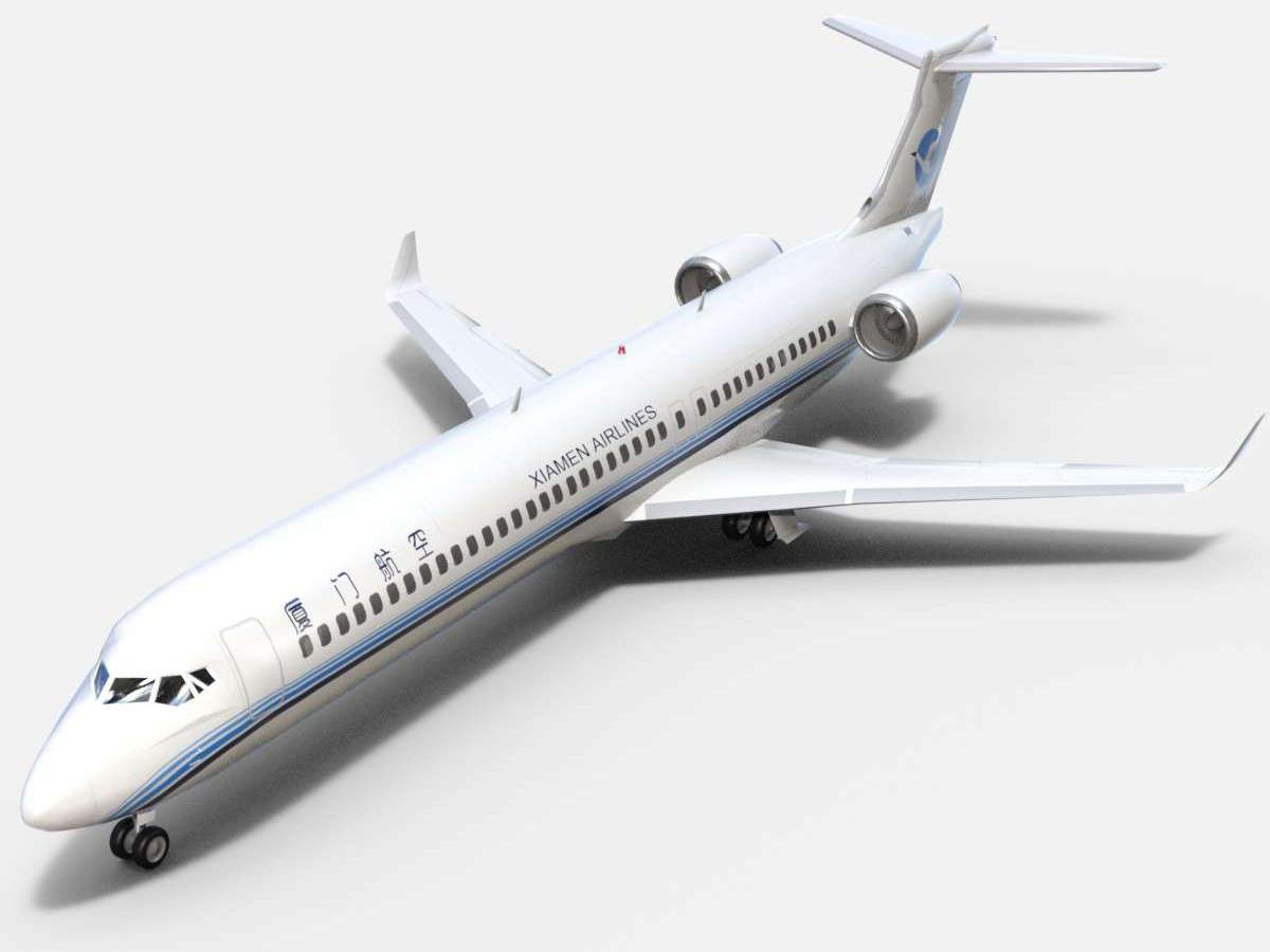 COMAC ARJ21-900 Xiamen Airlines_001