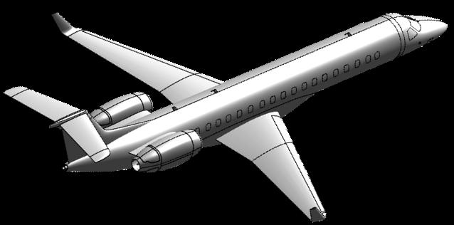 Embraer E145-0001