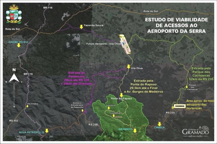 La imagen tiene un atributo ALT vacío; su nombre de archivo es figura-14-mapa-situacional-do-atual-e-do-novo-aeroporto-de-vila-oliva.png