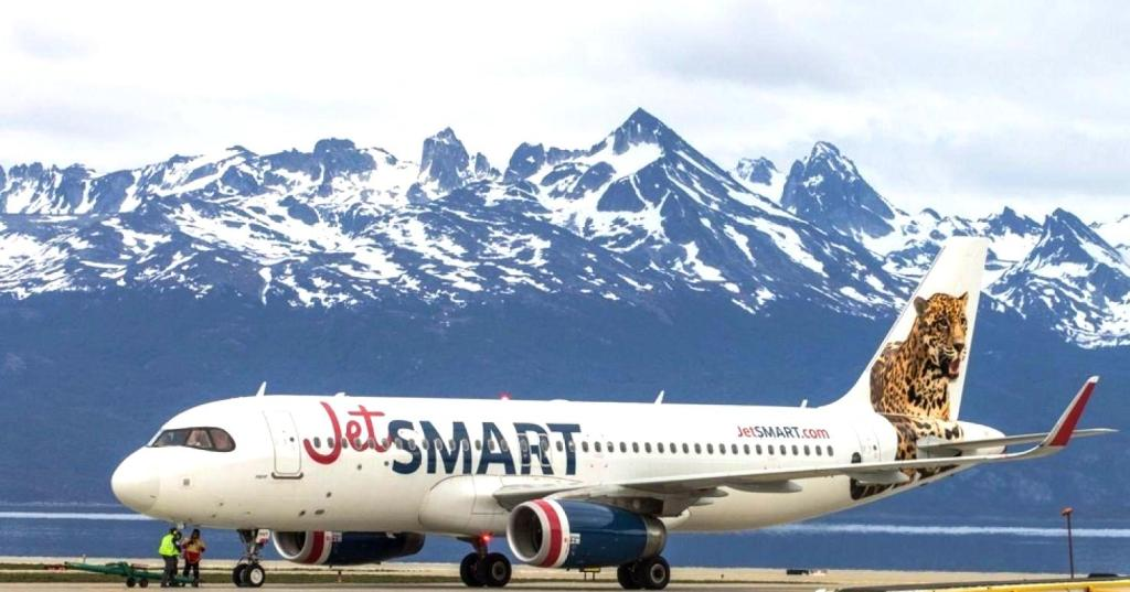 JetSmart enlazará El Calafate-Ushuaia  