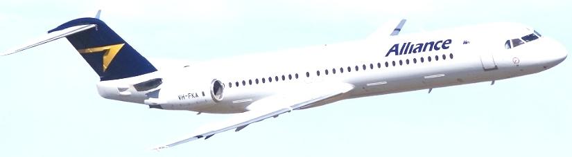 Alliance-Airlines-Fokker-100