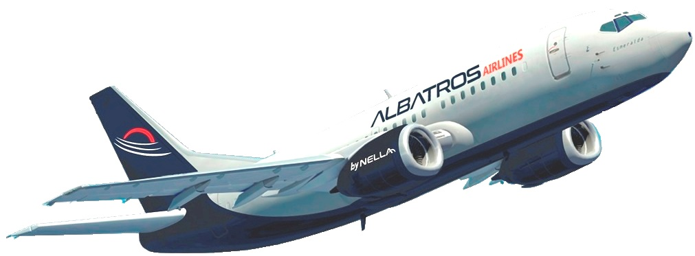 AW-Albatros Airlines_Boeing 737