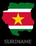 Suriname_Kaart