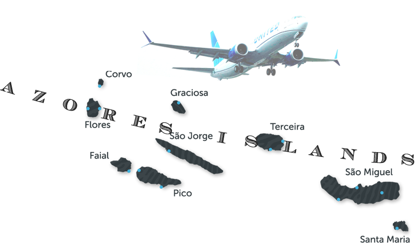 AW-Azores_Map-United Airlines