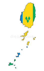 AW-Saint Vicent & Granadines Islands_Map